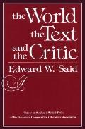 World, the Text, and the Critic