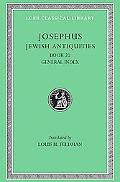 Josephus Jewish Antiquities, Book XX General Index X