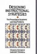 Designing Instructional Strategies The Prevention of Academic Learning Problems