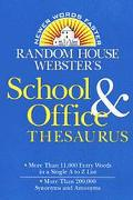 Random House Webster's School+office...
