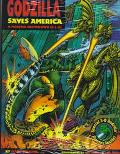 Godzilla Saves America: A Monster Showdown in 3-D! - Marc Cerasini - Hardcover - BK&ACCES