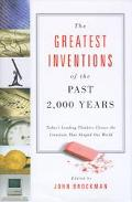 Greatest Inventions of the past 2000 Years - John Brockman - Hardcover