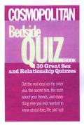 Cosmopolitan's Bedside Quiz Book: 27 Great Sex and Relationship Quizzes - Staff of Cosmopoli...