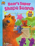 Bear's Super Shape Search - Nancy Inteli - Paperback