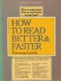 How to Read Better+faster