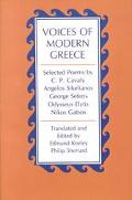 Voices of Modern Greece Selected Poems