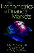 Econometrics of Financial Markets