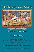 Ramayana Of Valmiki An Epic Of Ancient India