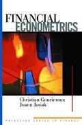 Financial Econometrics Problems, Models, and Methods