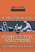 Competitive Solutions The Strategist's Toolkit