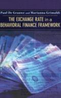 Exchange Rate in a Behavioral Finance Framework