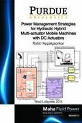Power Management Strategies for Hydraulic Hybrid Multi-Actuator Mobile Machines with DC Actu...