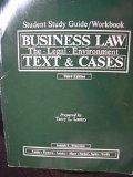 Business Law The Legal Environment Text & Cases Third Edition Student Study Guide/workbook