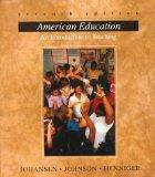 American Education: An Introduction To Teaching
