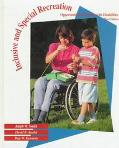 Inclusive and Special Recreation: Opportunities for Persons With Disabilities (Introduction ...