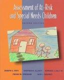 Assessment of At-Risk and Special Needs Children