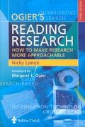 Ogier's Reading Research How to Make Research More Approachable
