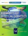 Emery's Elements of Medical Genetics: With STUDENT CONSULT Online Access, 14e (Turnpenny, Em...