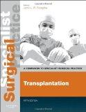 Transplantation - Print and E-Book : A Companion to Specialist Surgical Practice