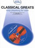 Classical Greats: Easy Playalong for Violin - Daniel Scott - Paperback