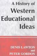 History of Western Educational Ideas