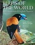 Birds of the World: Recommended English Names
