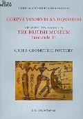 Corpus Vasorum Antiquorum, Great Britain Fascicule 25, the British Museum Fascicule 11 : Gre...