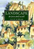 Landscape in Pen and Wash - Paulette Fedarb - Hardcover
