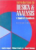 Introduction to Design and Analysis A Student's Handbook