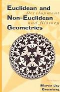 Euclidean and Non-Euclidean Geometries Development and History