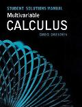 Multivariable Caclulus Student Solutions Manual
