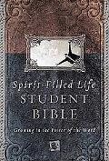 Spirit Filled Life Bible for Students New King James Version  Growing in the Power of the Word