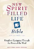 New Spirit Filled Life Bible New King James Version  Burgundy Bonded Leather