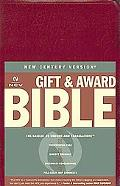Holy Bible BIB, New Century Version, Deluxe Gift & Award, Burgundy, Leatherflex