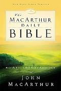 Macarthur Daily Bible Read the Bible in One Year With Notes from John Macarthur