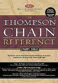 Thompson Chain Reference Study Bible New King James Version, Black
