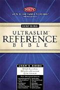Holy Bible New King James Version Black Ultraslim Reference