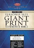 Holy Bible New King James Version, Black Bonded Leather, Personal Size Giant Print Reference...