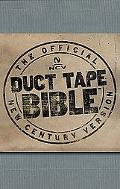 Holy Bible New Century Version, Silver Duct Tape