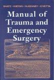 Manual of Trauma and Emergency Surgery