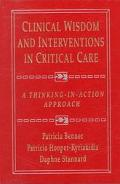 Clinical Wisdom and Interventions in Critical Care A Thinking In-Action Approach