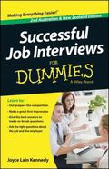 Successful Job Interviews for Dummies : Australian and New Zealand Edition