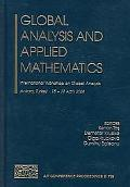 Global Analysis And Applied Mathematics International Workshop On Global Analysis