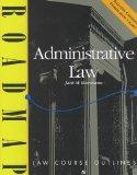 Administrative Law (Roadmap Law Course Outlines)