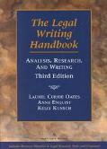 Legal Writing Handbook Analysis, Research, and Writing