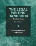 Legal Writing Handbook Practice Book Practice book
