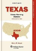 Texas Estate Planning Statutes 2008e