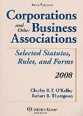 Corporations and Other Business Associations 2008 Statutory Supp