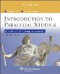Introduction Paralegal Studies: Critical Thinking Approach 4 Ed