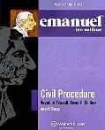 Civil Procedure Yeazell 7th Edition Emanuel Law Outline